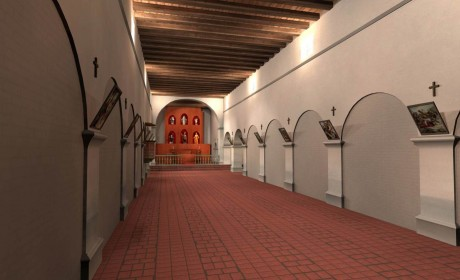 3D Animated Flythrough of Mission SJB